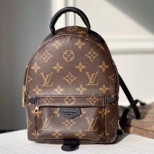 🌺Louis Vuitton🌺 Palm Sprinss Mini Backpack Shoulder Bag